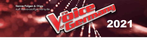 THE VOICE OF GERMANY 2021