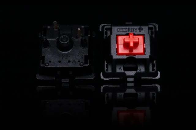 cherry MX linear silent switches
