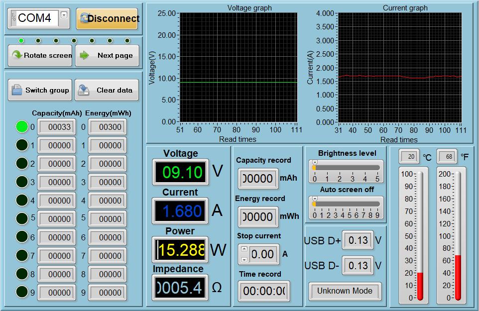 Power meter readings - Game Playing