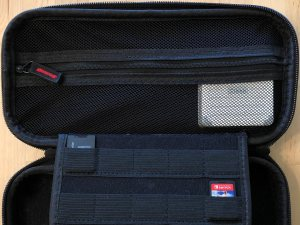 Zikko eLuggage L charger in a Switch carrying case.