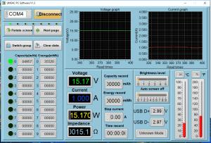 Power meter readings - Idle