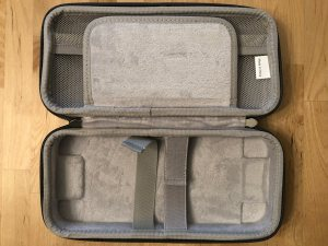 Bottom of Inateck Carrying Case.