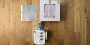 Zikko eLUGGAGE X box and contents.
