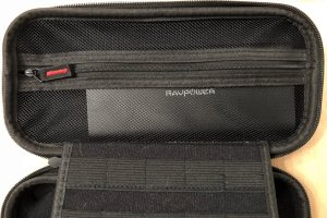 RAVPower Ace 26800 in a Switch carrying case