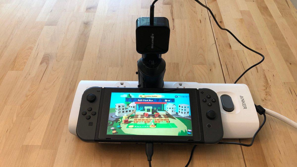 BlitzWolf BW-S10 30W USB PD with Nintendo Switch