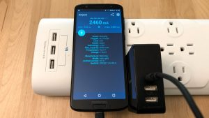 Inateck 45W 3-Port USB-C with Moto G6