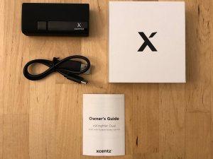 Xcentz xWingMan Dual 5000 box and contents