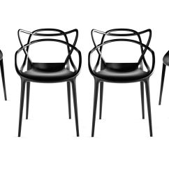 Design Chair Kartell Faux Leather And A Half