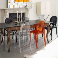 Inspiration: Dining Room Chairs (Kartell)