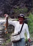 Hal Moore with Black Canyon Trout