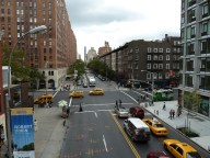 streets of New York City, as viewed from the high line