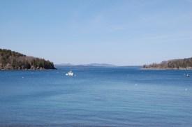 Bar Harbor, Maine coastline