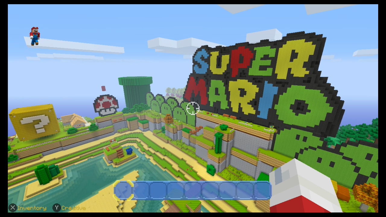 super mario logo in the super mario mash-up pack