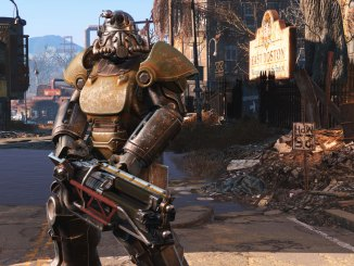 mech suit from fallout 4