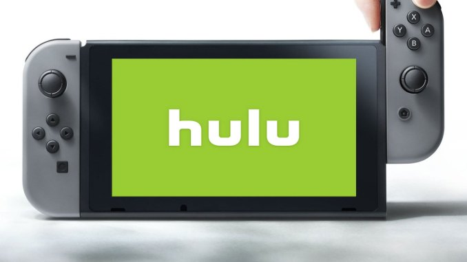 hulu app on switch