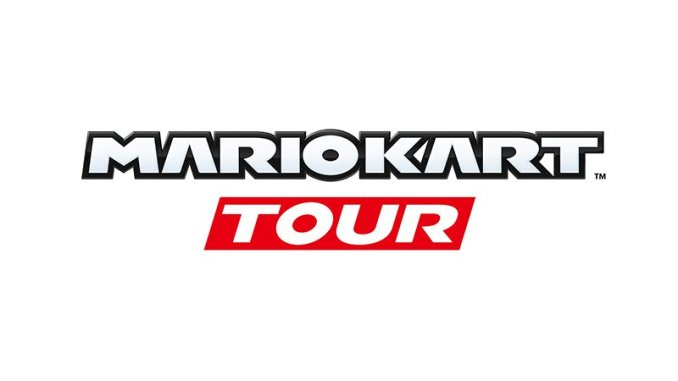 logo of mario kart tour