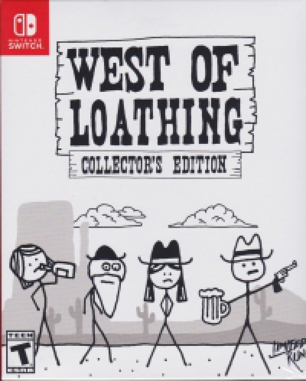 West Of Loathing Regions : loathing, regions, SwitchLib, Loathing, Collector's, Edition