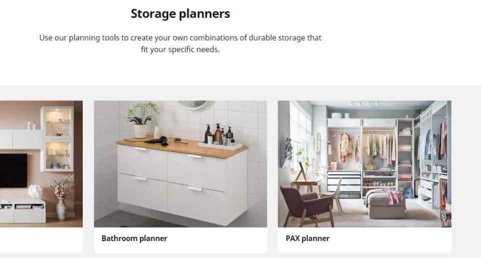 IKEA PAX storage