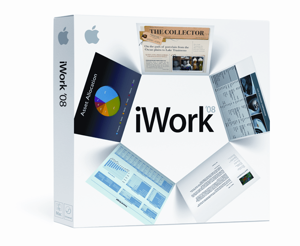 Apple releases iWork '08 with new 'Numbers' spreadsheet app - Switch ...