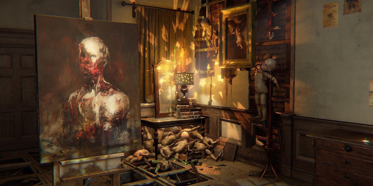 Layers of Fear Legacy is coming to the Nintendo Switch