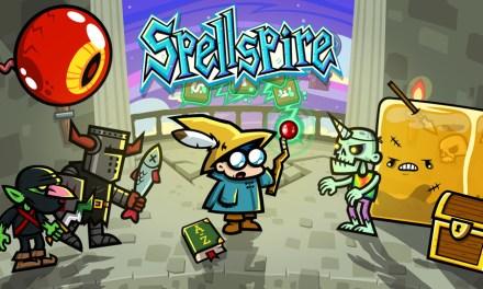 Spell Blast and Blast a Spell in Spellspire for Nintendo Switch™ on November 9th