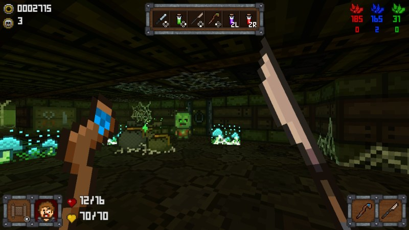 Fighting a Zombie in One More Dungeon