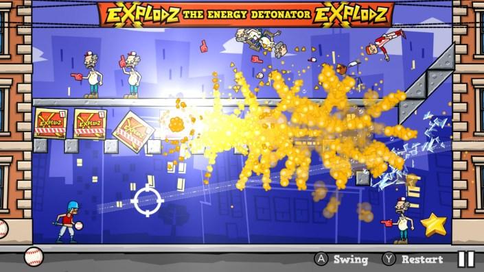 Baseball Riot Hitting Explodz