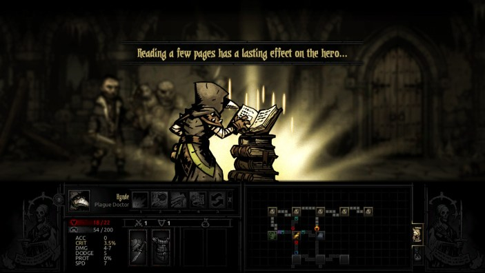 Gaining a quirk in Darkest Dungeon