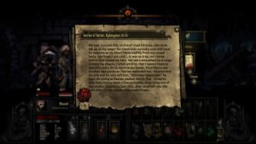 Darkest Dungeon Highwayman Journal Entry