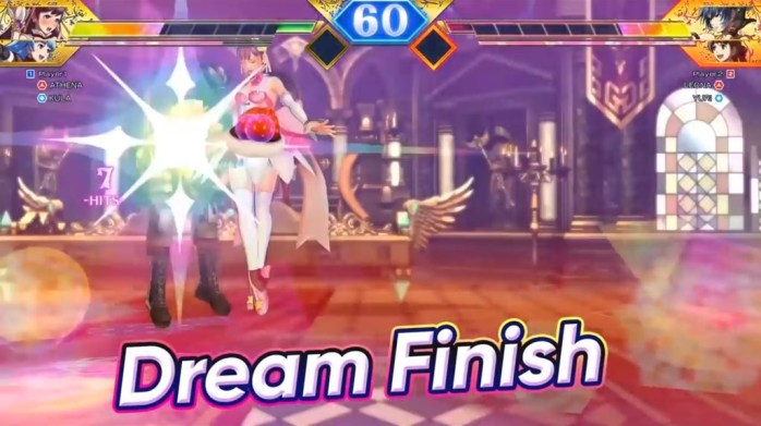 SNK Heroines Tag Team Frenzy Dream Finish