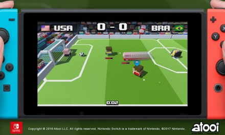 Atooi Announces Soccer Slammers for Switch