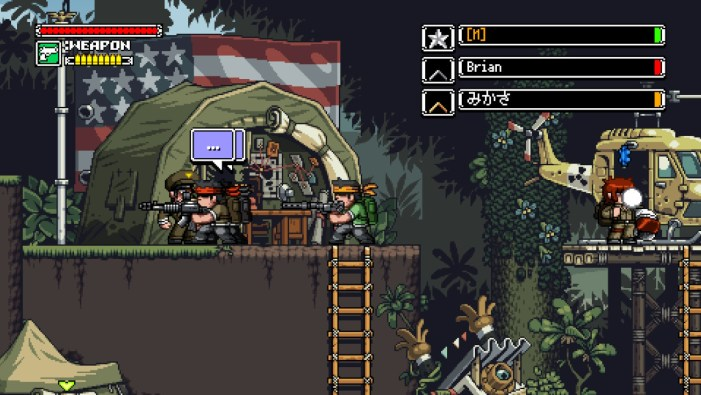 Mercenary Kings Hub town