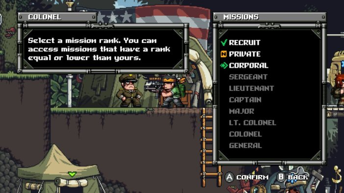 Mercenary Kings ranking