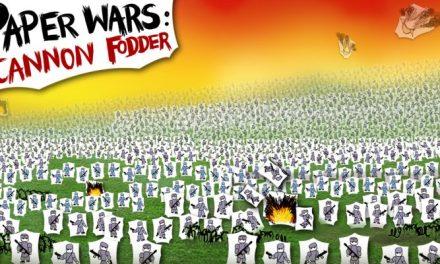 Paper Wars: Cannon Fodder Devastated on Switch