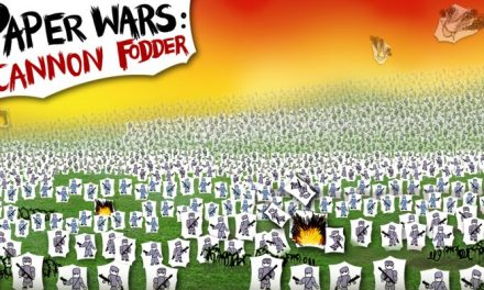 Paper Wars: Cannon Fodder Devastated on Switch