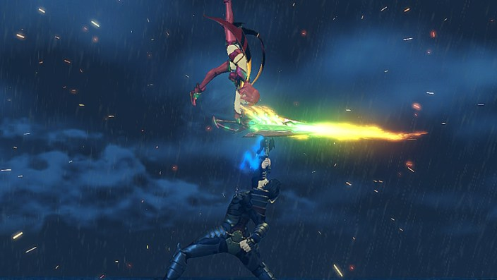 Xenoblade Chronicles 2 Pyra vs. Malos