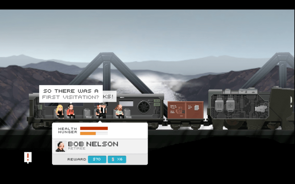 final station train ride