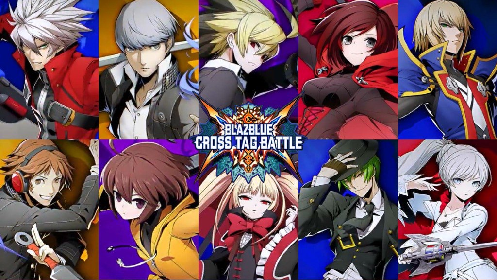 blazblue cross tag battle collectors edition switch