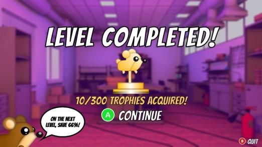 Henry The Hamster Handler Level Complete