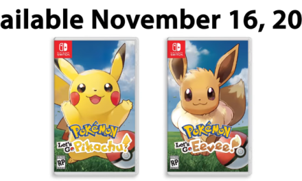 Pokemon Let's Go Pikachu and Let's Go Eevee Announced For Nintendo Switch