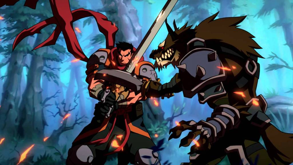 battle chasers nightwar visuals