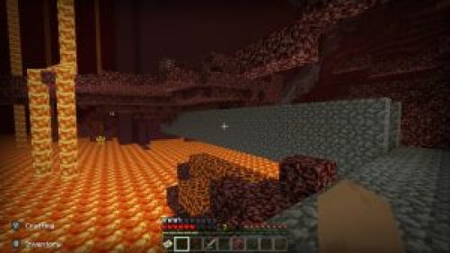 Minecraft Nether Lava