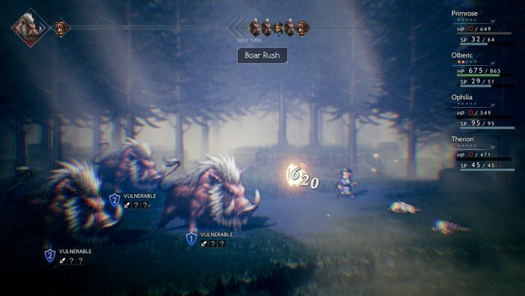 Octopath Traveler Path of Beasts