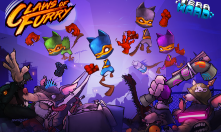 CLAWS OF FURRY SHARPENS ITS CLAWS FOR SWITCH