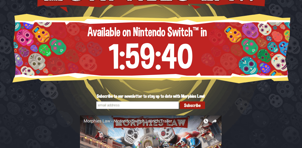 Morphies Law Coming to Nintendo Switch Today