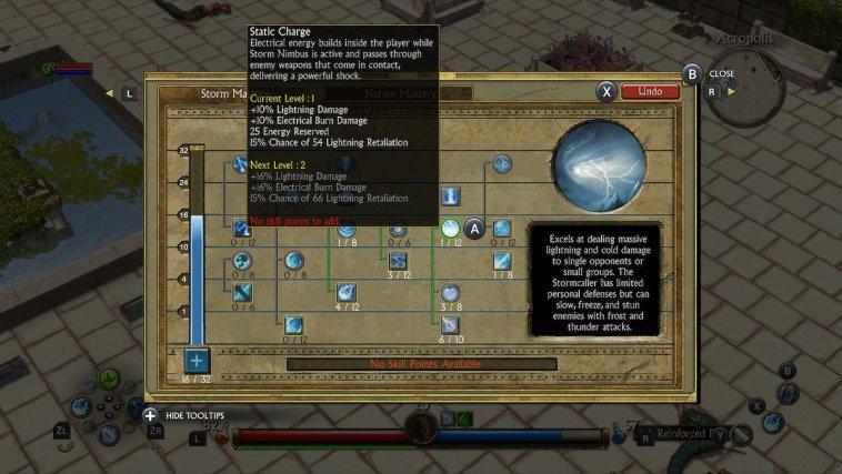 Titan Quest Skill Tree