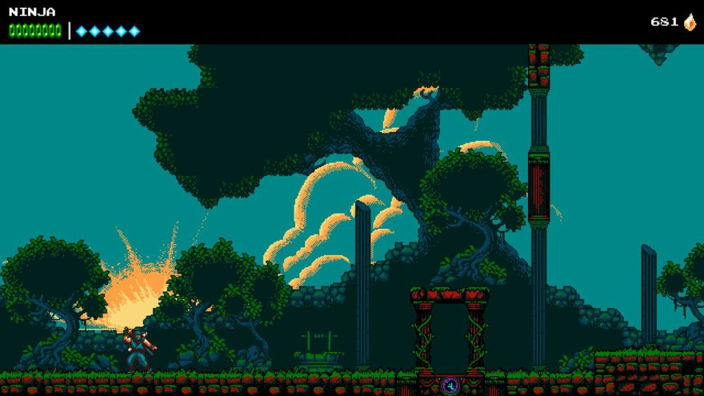 The Messenger Screenshot