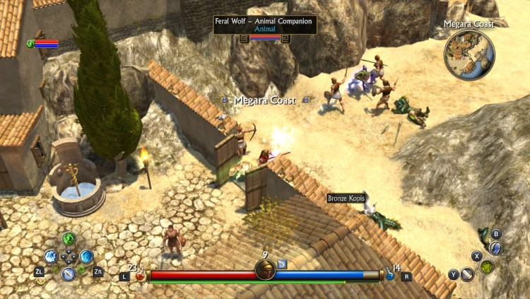 Titan Quest town guard