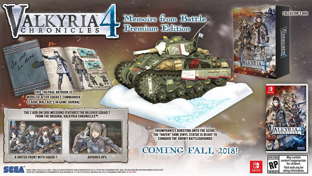 Valkyria Chronicles 4 Collector