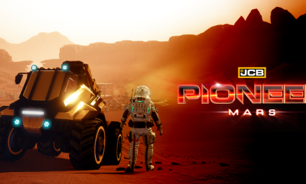 Spend Xmas on the Red Planet in JCB Pioneer: Mars, launching on Nintendo Switch 24th December 2018!